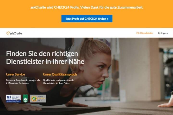 askCharlie – das Startup der Tirendo-Gründer – gehört inzwischen Check24