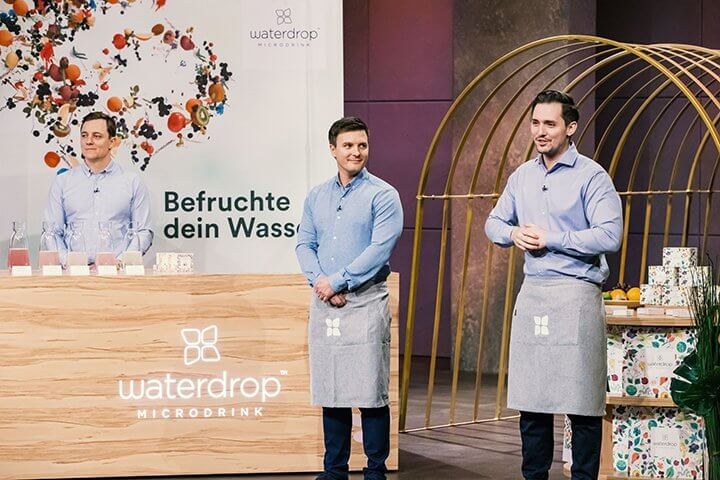 Aroma-Würfel waterdrop peilt beachtliche 20 Millionen Umsatz an #DHDL