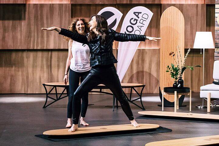 """Yogaboard: Erfolg unterwegs – auch wenn die Löwen es zu """"nischig"""" finden! #DHDL"""
