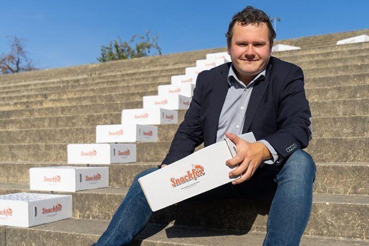 So will der chocri-Gründer mit Snackfox 10 Millionen Umsatz einfahren