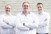 Drei junge Kölner Gründer gehen in den Wettstreit mit Amazon, Google und Microsoft