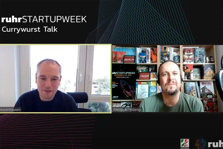 Jan Sessenhausen (Tengelmann Ventures) spricht über Geld #CurrywurstTalk