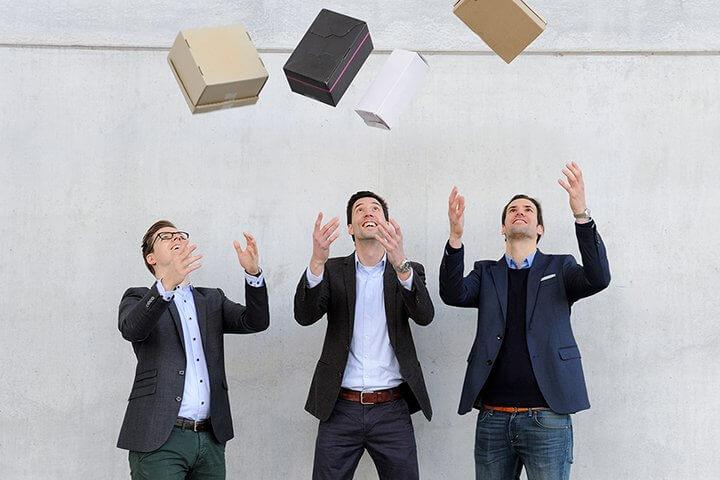 """""""Wir sind von drei Gründern in München auf über 85 Mitarbeiter in vier Ländern gewachsen"""""""