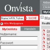 Screenshot OnVista