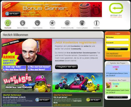 enter.tv am Ende – Überreste der Spieleplattform gehen an Tipp24