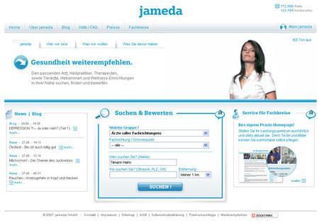 jameda sucht, findet und bewertet Ärzte, Heilpraktiker und Therapeuten