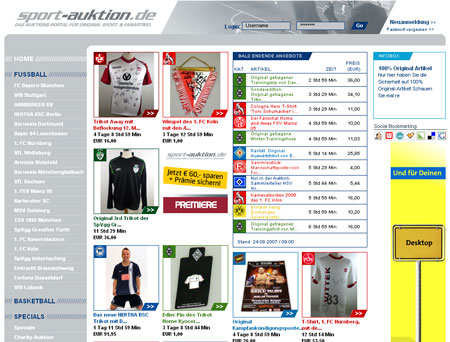 Neuer Investor für sport-auktion.de