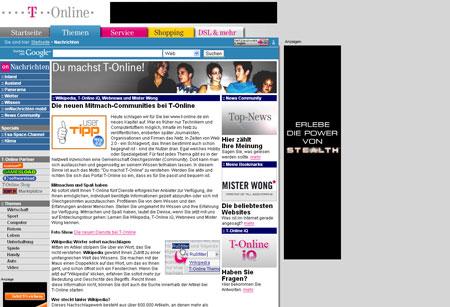 T-Online setzt auf Web 2.0