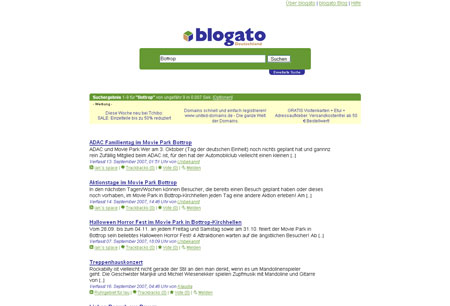 blogato steht in den Startlöchern