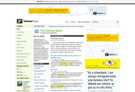 Burda steigt bei ScienceBlogs ein