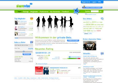 About Change Ventures steigt bei sharewise ein