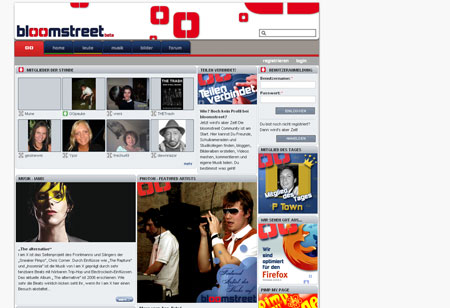 Screenshot bloomstreet