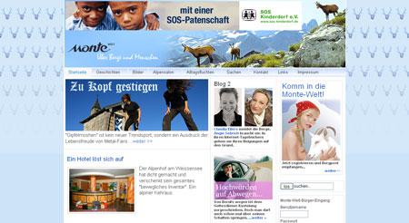 Holladihö – Monte ist online
