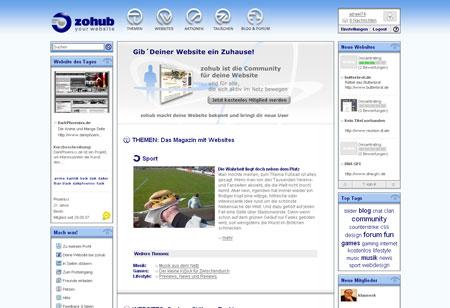 zohub präsentiert Websites