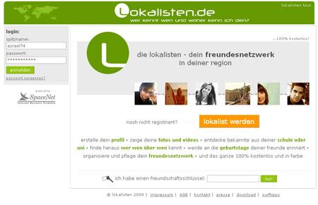 Lokalisten entgrünen ihre Website