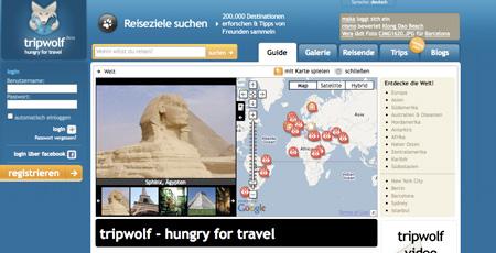 Tripwolf bündelt Reiseinformationen