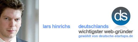 Lars Hinrichs ist Deutschlands wichtigster Web-Gründer