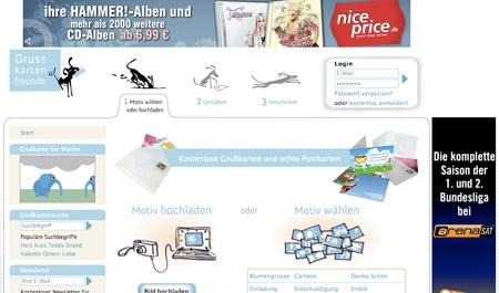 Die richtige Grusskarte finden auf Grusskartenfreunde.de