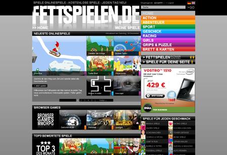 Fettspielen.de bündelt Webgames
