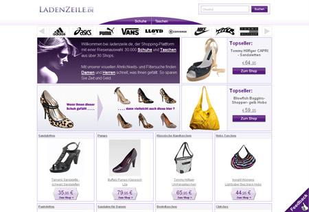 Mit ladenzeile.de zum Frauenschuhversteher