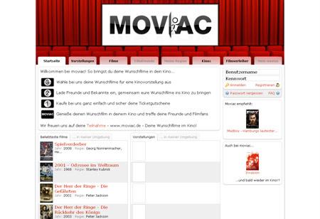 Moviac lädt zur Wunschvorstellung