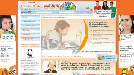 Learnship startet Learnkids
