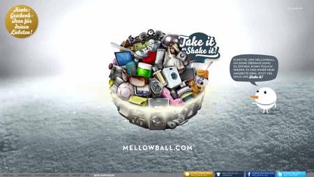 Mellowball spuckt Angebote aus