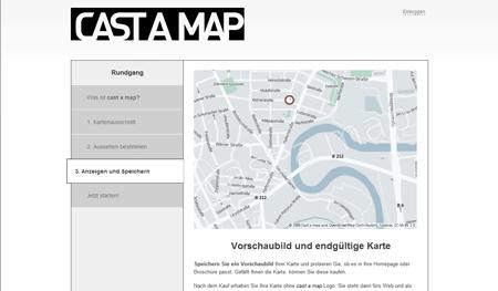 Castamap erstellt Anfahrtsskizzen