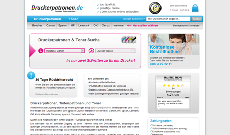 Druckerpatronen.de und die E-Commerce-Offensive aus Iserlohn