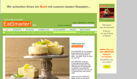 Mit EatSmarter propagiert Dirk Manthey gesundes Essen