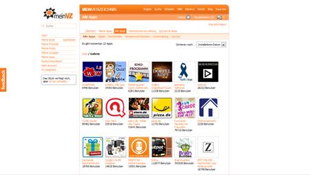 wooga erobert die VZ-Familie – Applikationen bei studiVZ und Co.