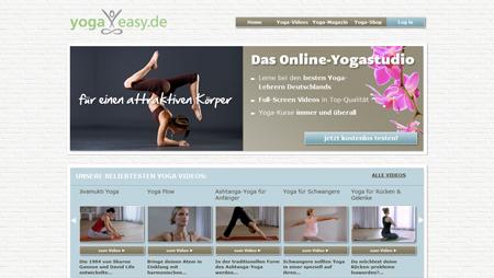Mit YogaEasy.de kommt der Yoga-Lehrer ins Haus