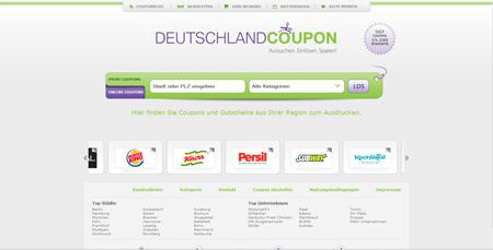 Mit DeutschlandCoupon günstiger Burger und Pommes futtern