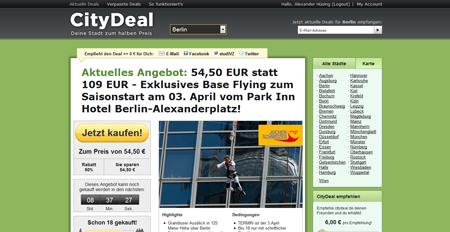 Neue Finanzierungsrunde: Weitere 5 Millionen Euro für CityDeal