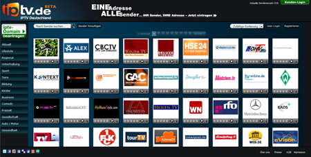 IPTV.de bündelt Video-Angebote