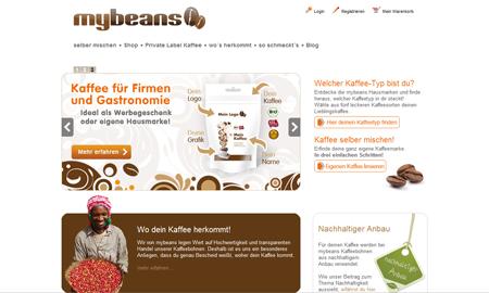 Mybeans duftet nach Kaffee