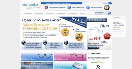 Crédit Agricole investiert in Brillen-Start-up Netzoptiker