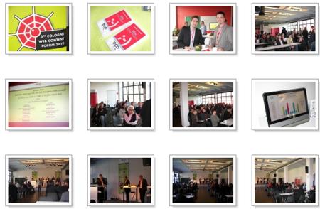 Fotogalerie: Web Content Forum