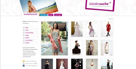 Frauen auf Kleidersuche werden bei Kleidersuche.de fündig