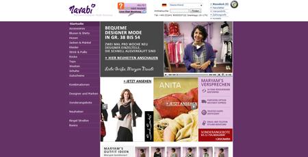 Navabi – Erfolg mit Übergrößen