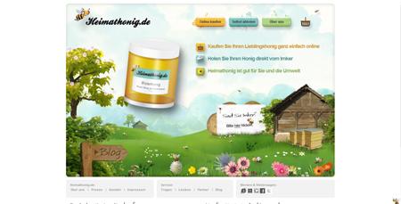 Heimathonig schmiert Onlinern Honig ums Maul