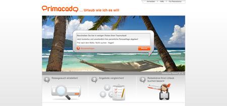 Mit dem Reisevermittler Primacado wird der Urlaub prima