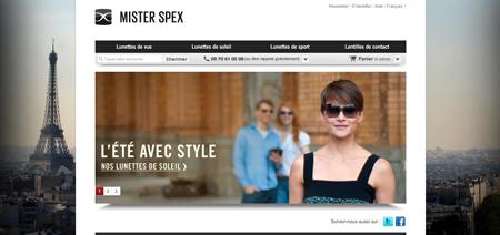 Mister Spex legt in Frankreich an