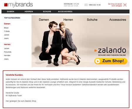 Zalando schluckt mybrands und wandelt sich zum Online-Kaufhaus
