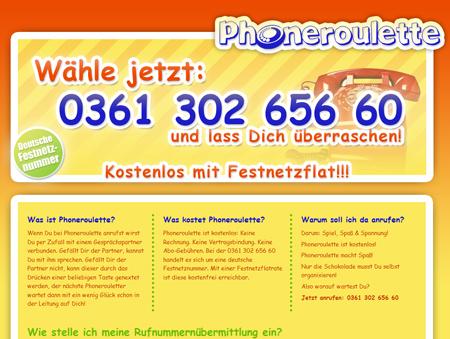 Telefon statt Webcam: Nach Chatroulette kommt Phoneroulette