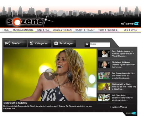 SnackTV liefert Videos für umme