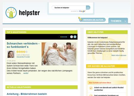gutefrage.net reanimiert helpster und startet einen Ratgeberdienst