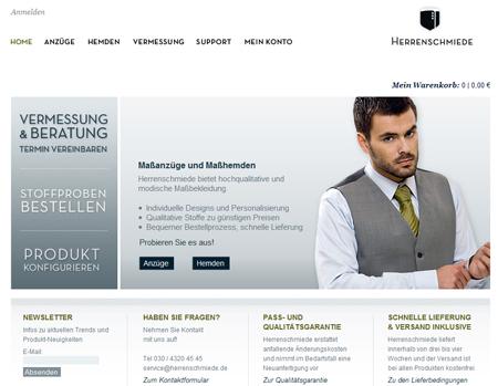 Mountain Super Angel investiert in Online-Schneiderei Herrenschmiede