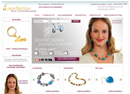 Ecommerce Alliance investiert in Schmuckshop Pearlfection