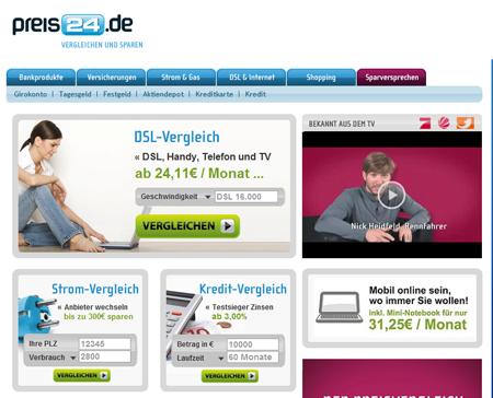 sixt e-ventures startet preis24.de